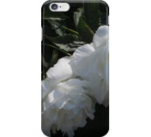 White Peonies iPhone Case/Skin