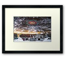 Sunset in the Ice Palace Framed Print