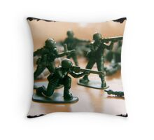 the final push ... Throw Pillow