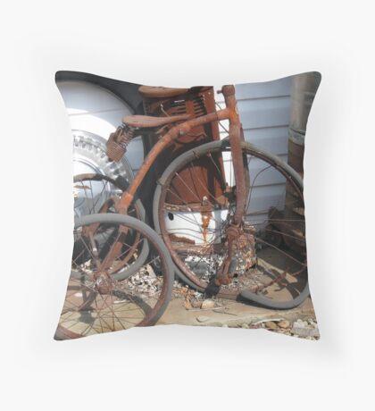 Popped Wheelie Throw Pillow