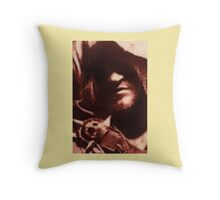 Edward Kenway Stitched look Throw Pillow