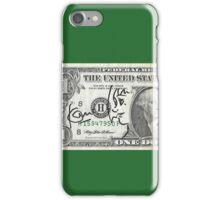 satoshi kon dedicace,one dollar! iPhone Case/Skin