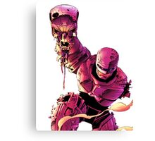 Robocop VS Terminator Canvas Print