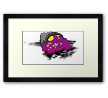 poulpe  Framed Print