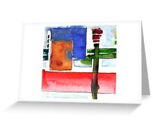 New Abstract Greeting Card
