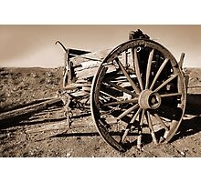 disabled vehicle Photographic Print