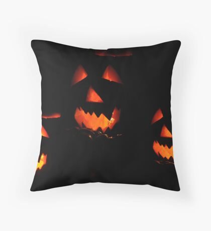 Jack and Friends Throw Pillow