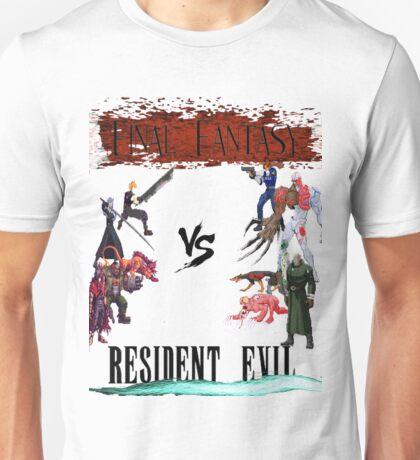 Final Fantasy VS Resident Evil Unisex T-Shirt