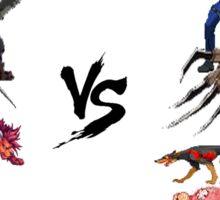 Final Fantasy VS Resident Evil Sticker