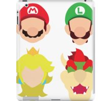 Super Mario Characters iPad Case/Skin
