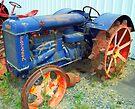Fordson Tractor by Tamara Valjean