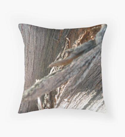 Tree bark!! Throw Pillow