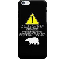 """Le Bear Polar""- Cabin Pressure iPhone Case/Skin"