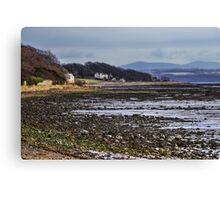 Torryburn Ness Canvas Print