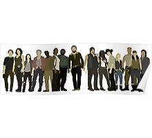 The Walking Dead Cast Poster