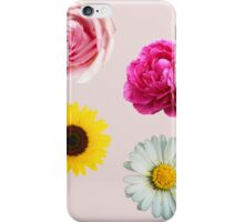 Flowers Set iPhone Case/Skin