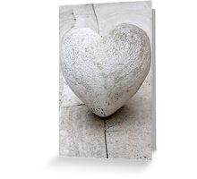 heart architecture detail Greeting Card
