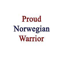 Proud Norwegian Warrior  Photographic Print