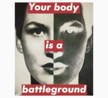 Your Body is a Battleground Kids Clothes