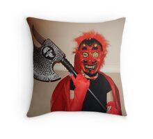 devil in disguise Throw Pillow