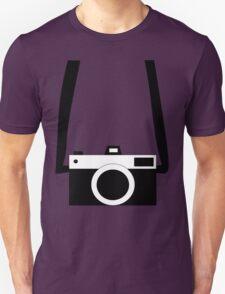 Black and White Camera  Unisex T-Shirt