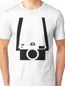 Black and White Camera  Unisex T-Shirt