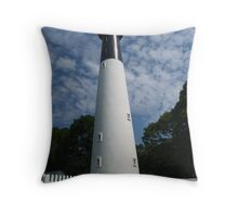Hunting Island Lighthouse, SC Throw Pillow