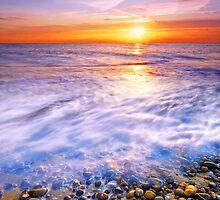 Thorpeness Beach Suffolk 3. by Wayne Bradshaw