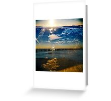 2  minds Greeting Card