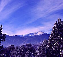 A Colorado Winter's Day by Beverly Lussier