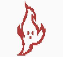 Pixel Fire Guy by DawnPrince