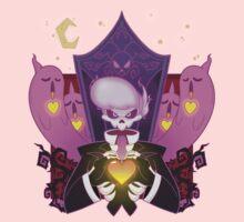 Mystery Skulls Ghost Kids Tee