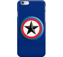 Bulls Eye, Right on Target, Roundel, Archery, Star, on Dark Blue iPhone Case/Skin