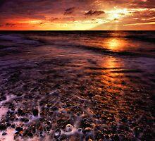 Thorpeness Beach Suffolk 12. by Wayne Bradshaw