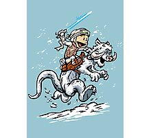Calvin and Hoth Photographic Print
