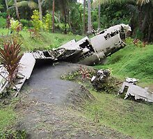 Wreck    New Guinea by sandy11
