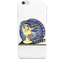Who Throws The Ball At The One Yard Line? - The 12th Man iPhone Case/Skin