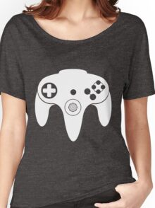 Nintendo N64 White Women's Relaxed Fit T-Shirt