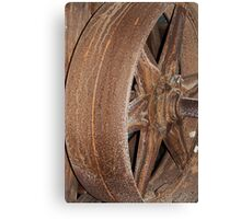 The Flywheel Canvas Print