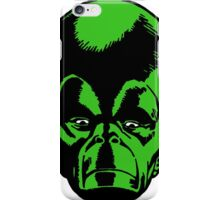 Big Green Mekon Head  iPhone Case/Skin