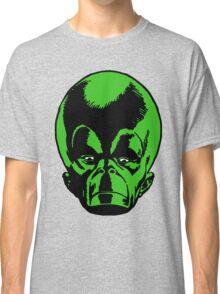Big Green Mekon Head  Classic T-Shirt