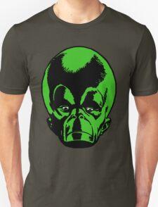 Big Green Mekon Head  Unisex T-Shirt