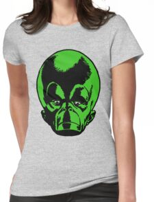 Big Green Mekon Head  Womens Fitted T-Shirt