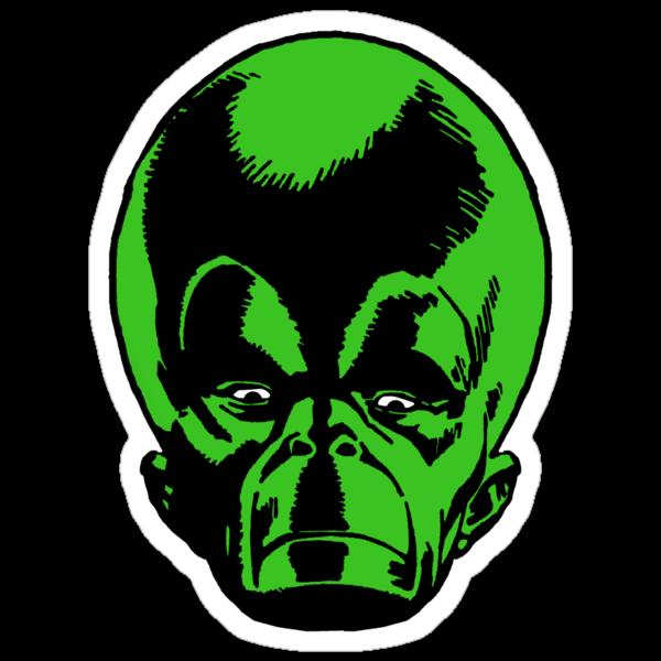 Big Green Mekon Head  by PROM11