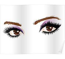 Eyes with make up 5 Poster