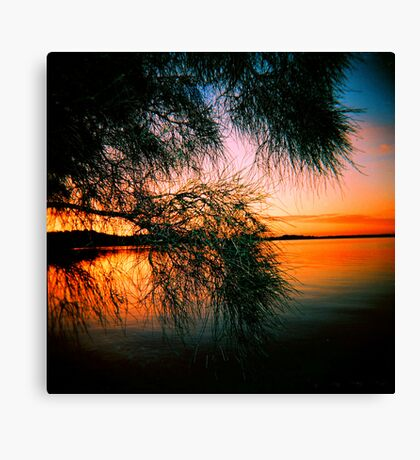 Lake of Fire Canvas Print