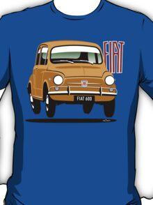 Fiat 600 yellow T-Shirt