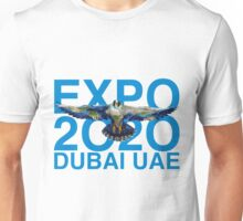 Dubai UAE Expop 2020 Earth Falcon Unisex T-Shirt