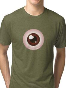 Eye Balls of Different Colors 2 Tri-blend T-Shirt