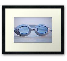 Swim Goggles Framed Print